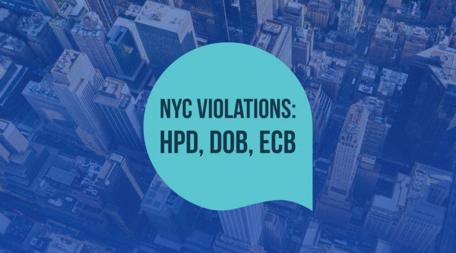 NYC Violation Removal